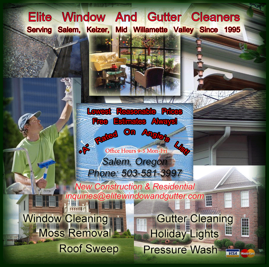 Elite Window And Gutters Inc